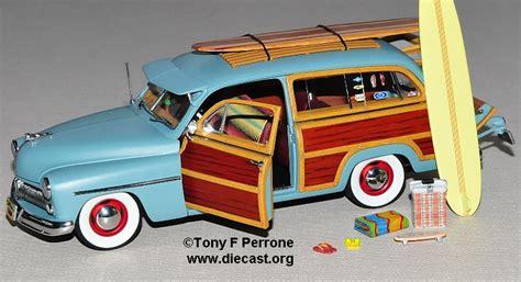 surf car 1949 mercury surf woody diecast model legacy motors