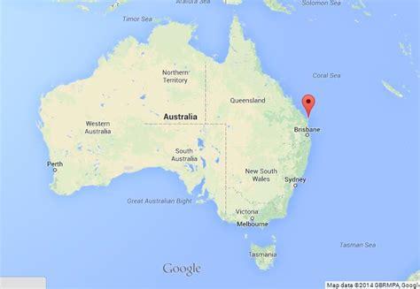 map of island and australia fraser island on map of australia