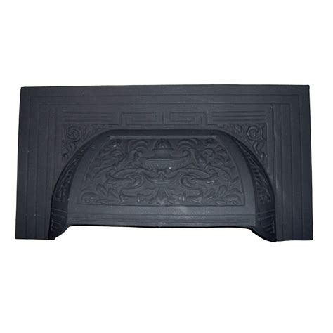 Victorian Fireplace Hood (H16) (Black)   Victorian