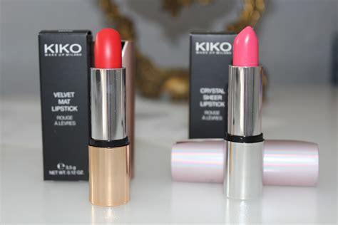 Lipstik Kiko Review Kiko Cosmetics Naseema