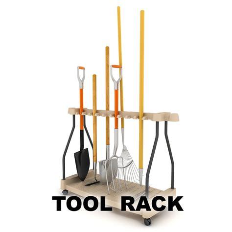 Garden Tool Storage Rack by Fbx Garden Tool Rack