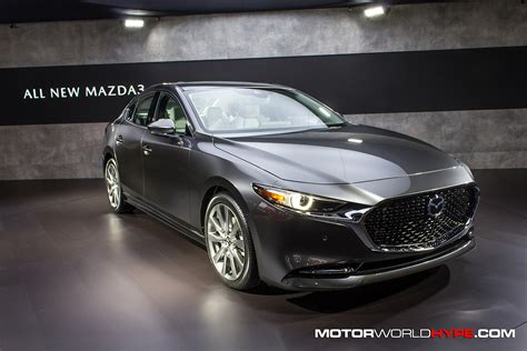Mazda 3 2020 Sedan by La Auto Show 2018 2020 Mazda3 Hatchback And Sedan