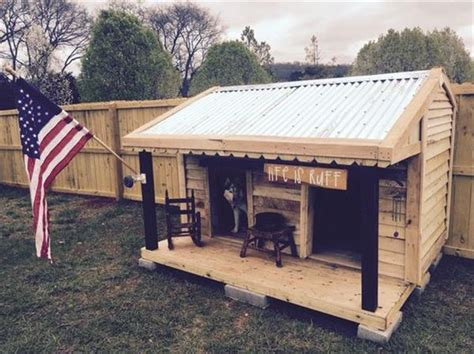 2 level dog house stylish pallet dog houses designs recycled pallet ideas