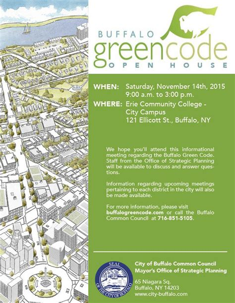 open houses buffalo ny open house on the proposed green code buffalo rising