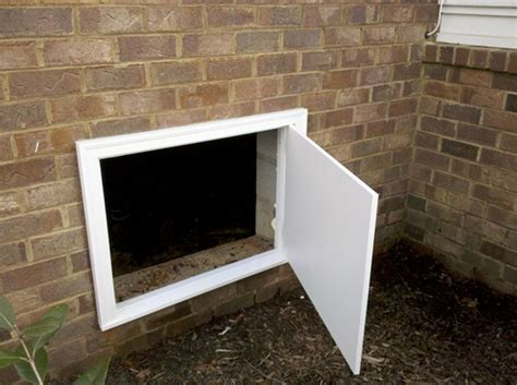 exterior crawl space access door crawl space doors curb appeal products