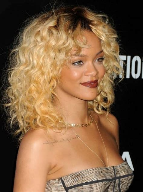 hairstyles for curly hair everyday 15 rihanna hairstyles different haircut popular haircuts