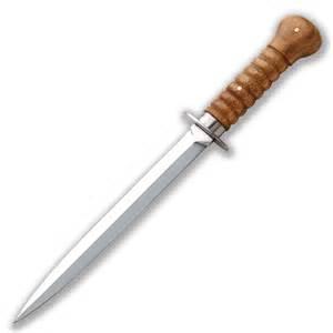 Types Of Knives Kitchen Dutch Fighting Knife 20th Century Wars Atlanta Cutlery