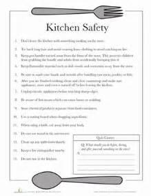 Worksheets kitchen safety activities kitchen safety for kids kitchen