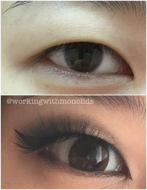 Blending Liner Makes Look by Workingwithmonolids Tutorial Neutral Cut Crease On Monolids