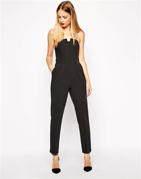 Asos Origami Jumpsuit - image 1 of asos pleated origami jumpsuit dress moi