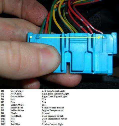 honda civic cluster wiring diagram wiring diagrams