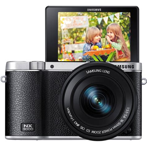 Kamera Mirrorles Samsung Nx3000 samsung nx3000 mirrorless digital ev nx3000boius b h