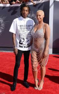 amber rose and wiz khalifa divorce heats up with cheating