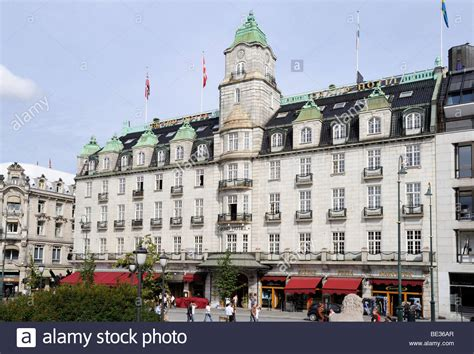 Grand Hotel Oslo Europe grand hotel and grand cafe at karl johans gate oslo