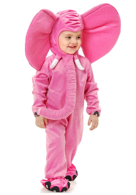 elephant costume toddler pink elephant costume