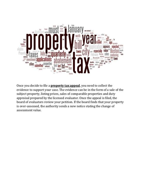 Property Tax Appeal Letter by Property Tax Appeal Property Tax Appeal Images Property Tax Appeal Images Property