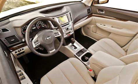 subaru legacy interior 2014 car and driver