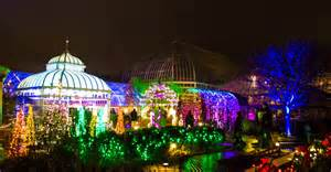 dazzeling holiday fun at phipps winter light garden show
