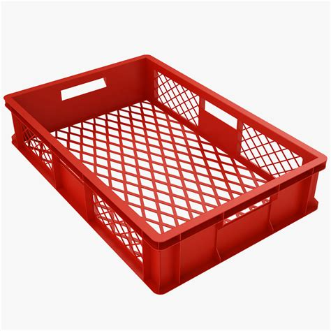 plastic crate plastic crate 3d model