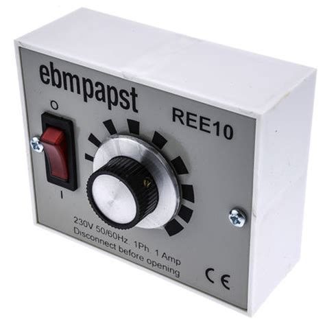 12v dc variable speed fan controller ree10 fan speed controller variable 230 v 1a ebm papst