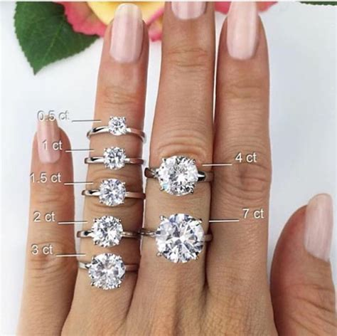 25 best ideas about sizes on 2 carat