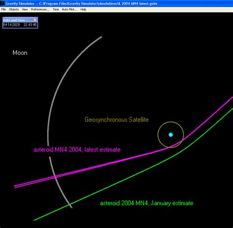 asteroid number more precise numbers on 2004mn4 asteroid flyby in 2029