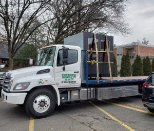 air ride flatbed trucking copiague ny mcguire trucking service