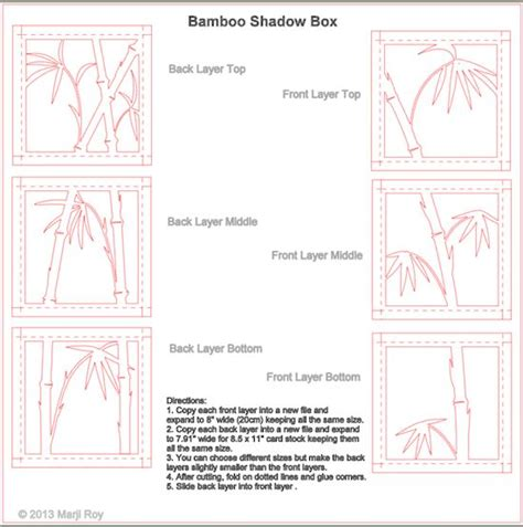 shadow box card template 3931 best card templates ideas images on