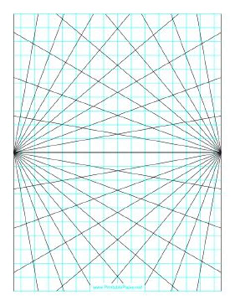grid pattern portrait this perspective grid paper is formatted with two points