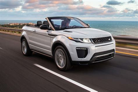 convertible range rover evoque 2017 range rover evoque convertible test motor trend