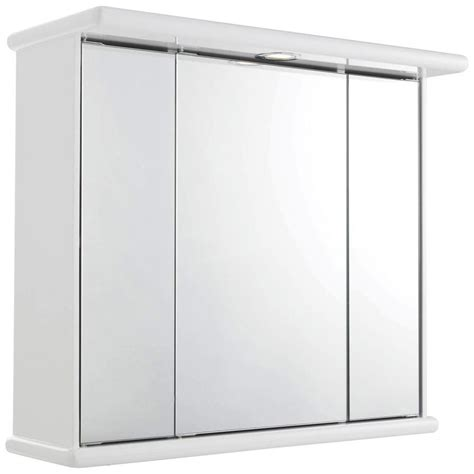 triple bathroom cabinet lauren cryptic 700mm triple door mirrored cabinet with