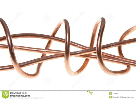 copper wire stock photography image 29035652