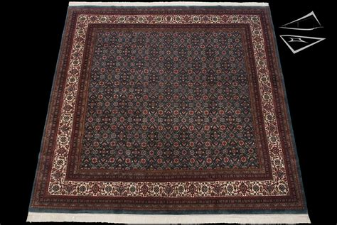 10 square rug herati design blue square rug 10 x 10