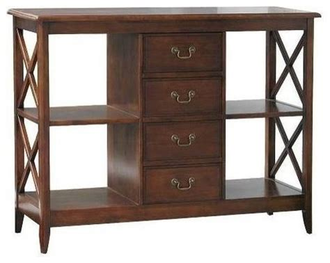 eiffel 65 console eiffel console table w drawers shelves transitional