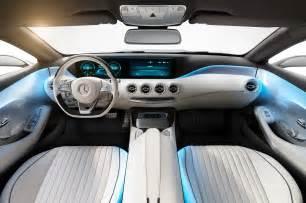 mercedes s class coupe concept interior photo 11