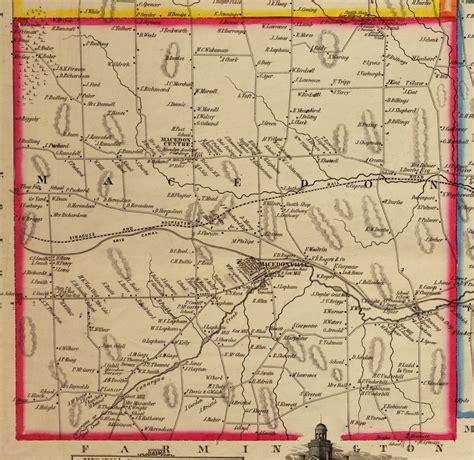 Wayne County Ny Records Macedon Town Records 1823 1851