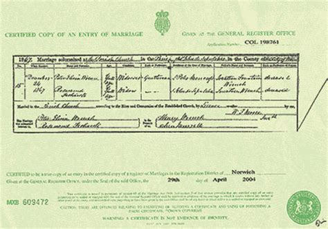 Uk Marriage Records Marriage Certificates And Notices Eastern Daily Press