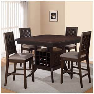 big lots dining room sets 5 piece pub set with wine rack big lots