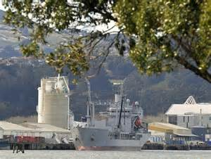 Odt St Pandidas Navy navy crews visit dunedin for r and r otago daily times news otago south island