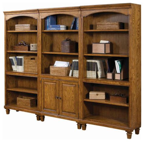 bookcase display wall unit