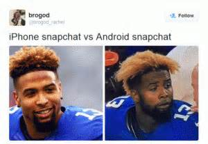 Android Vs Iphone Meme by Snapchat Jokes Kappit