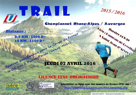 Calendrier Trail Calendrier Trail Rhone Alpes 2016 Course Nature