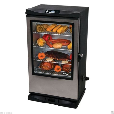 masterbuilt 40 quot wheeled electric digital smokehouse bbq