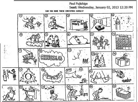 collection of christmas carol worksheets printable collection of guess the christmas song worksheet