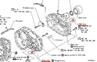 nissan murano transmission diagram