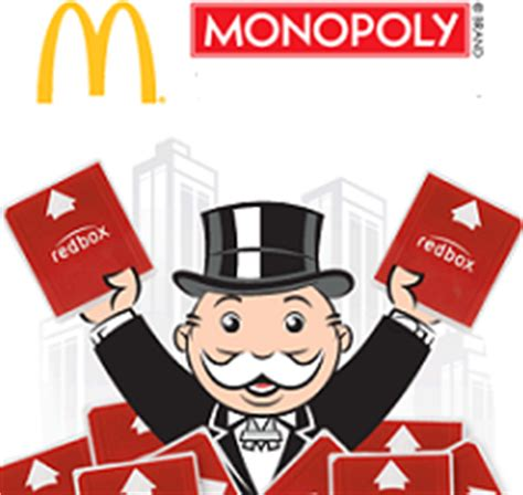 Monopoly Second Chance Sweepstakes - mcdonald s 2012