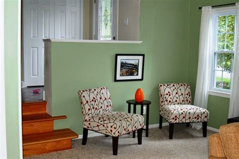 interior paint color schemes green