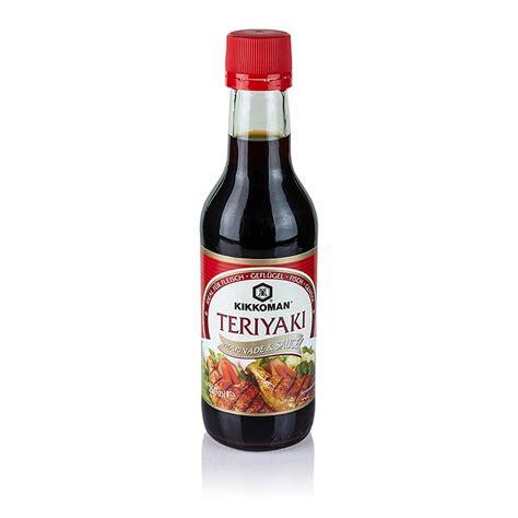 Saus Teriyaki Marinade Kikoman teriyaki sauce als dip marinade kikkoman 250 ml