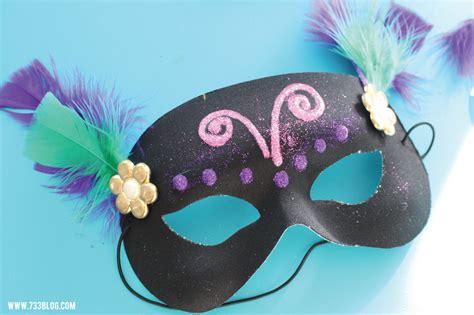 simple diy mask diy mardi gras mask craft inspiration made simple