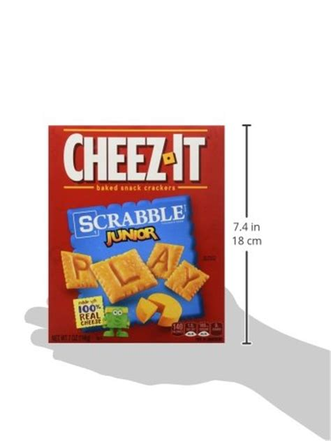 cheez it scrabble galleon baked snack crackers cheez it scrabble